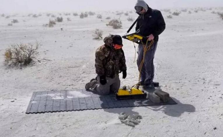 [新聞] 科學家用3D雷達發現了12000年前人類足跡