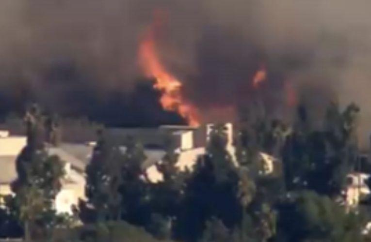 [新聞] 美國好萊塢山發生火災 華納電影公司緊急撤離